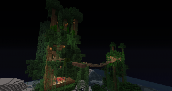 I seem to have a thing for treehouses... (Map 3)